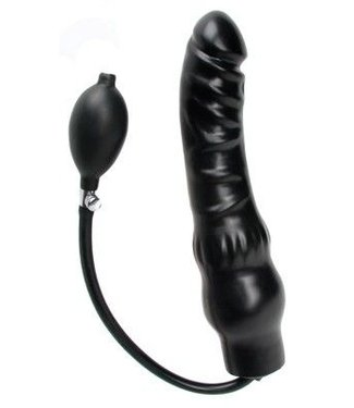Master Series Rubber Inflatable Dildo