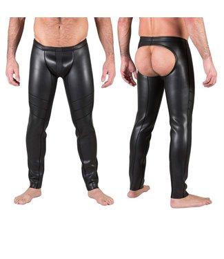 665 Neo Open Ass Pants Zwart