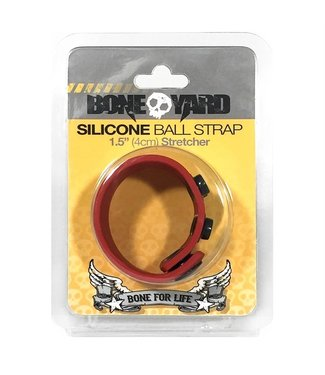 Boneyard Ball Strap - Red