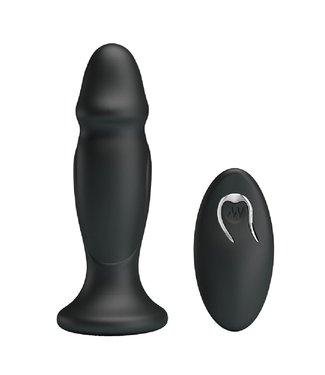 Mr. Play Vibrating Anal Plug P-Shape