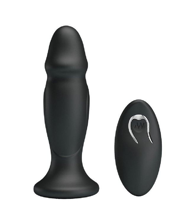 Mr. Play Vibrating Anal Plug P-Shape
