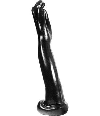 Dark Crystal Black Giant Fist Dildo 36,5 x 6cm