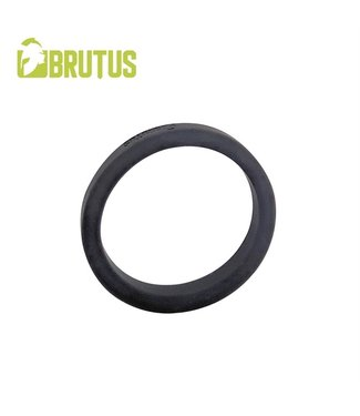 Brutus Flat Slick - Silicone Cock Ring 55 mm.