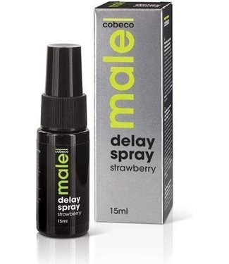 Cobeco Male Male Delay Spray Aardbei 15 ml