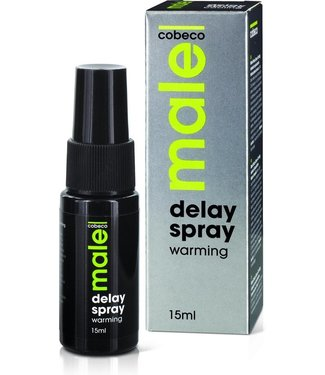 Cobeco Male Delay Spray Warming 15 ml