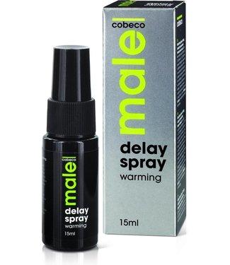 Cobeco Male Male Delay Spray Verwarmend 15 ml