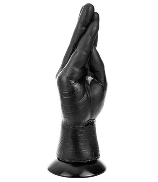 Dinoo King-Size Dildo - Hand Klein Zwart 19 x 6 cm