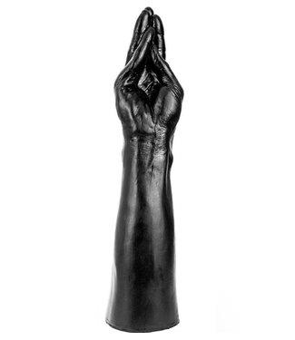 Dinoo King-Size Dildo - Arm Zwart 35 x 7.5 cm