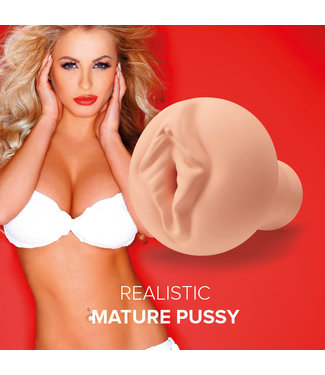 Orgasmic Toys Masturbator Realistic Mature Pussy