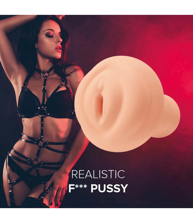 Orgasmic Toys Masturbator Realistic F*** Pussy