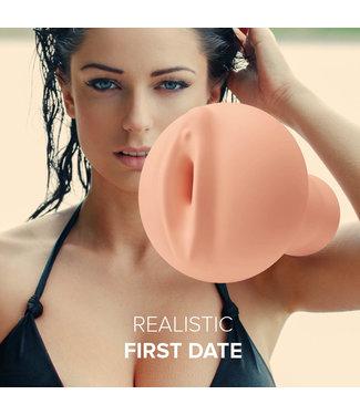 Orgasmic Toys Masturbator Realistic First Date