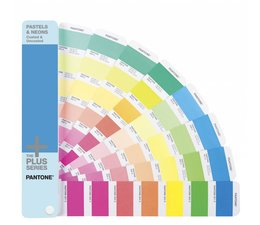 Pantone The +PLUS SERIES Pastels & Neons Guide Coated & Uncoated