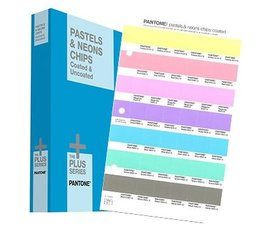 Pantone The +PLUS SERIES Pastels & Neons Chips Coated & Uncoated