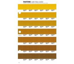 Pantone PMS Solid Chips vervangingspagina op coated papier 11C, kleurnummers 7555C - 7556C - 7557C - 7558C - 7559C - 7560C - 7561C