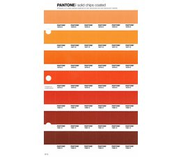 Pantone PMS Solid Chips vervangingspagina op coated papier 27C, kleurnummers 7576C - 7577C - 7578C - 7579C -7580C - 7581C - 7582C