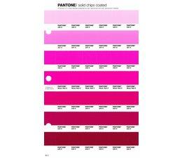 Pantone PMS Solid Chips vervangingspagina op coated papier 60C, kleurnummers 230C - 231C - 232C - 233C - 234C - 235C