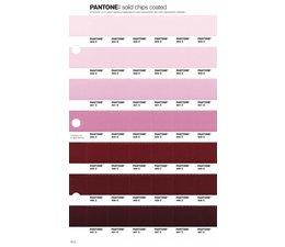 Pantone PMS Solid Chips vervangingspagina op coated papier 70C, kleurnummers 503C - 502C - 501C - 500C - 499C - 498C - 497C