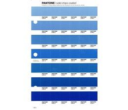 Pantone PMS Solid Chips vervangingspagina op coated papier 138C, kleurnummers 2148C - 2149C - 2150C - 2151C - 2152C - 2153C - 2154C