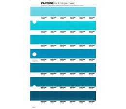Pantone PMS Solid Chips vervangingspagina op coated papier 154C, kleurnummers 7709C - 7710C - 7711C - 7712C - 7713C - 7714C - 7715C