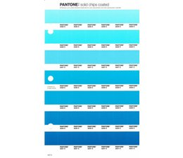 Pantone PMS Solid Chips vervangingspagina op coated papier 157C, kleurnummers 2225C - 2226C - 2227C - 2228C - 2229C - 2230C - 2231C