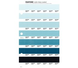 Pantone PMS Solid Chips vervangingspagina op coated papier 161C, kleurnummers 5523C - 5513C - 5503C - 5493C - 5483C - 5473C - 5463C