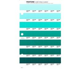 Pantone PMS Solid Chips vervangingspagina op coated papier 164C, kleurnummers 324C - 325C - 326C - 327C - 328C - 329C - 330C