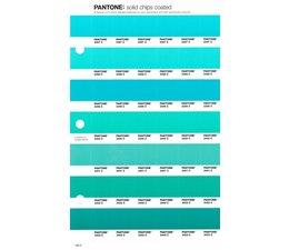 Pantone PMS Solid Chips vervangingspagina op coated papier 166C, kleurnummers 2397C - 2398C - 2399C - 2400C - 2401C - 2402C - 2403C