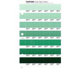 Pantone PMS Solid Chips vervangingspagina op coated papier 190C, kleurnummers 2260C - 2261C - 2262C - 2263C - 2264C - 2265C - 2266C