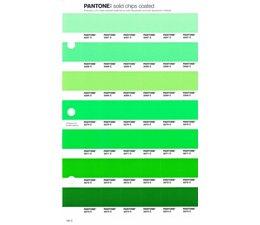 Pantone PMS Solid Chips vervangingspagina op coated papier 192C, kleurnummers 2267C - 2268C - 2269C - 2270C - 2271C - 2272C - 2273C