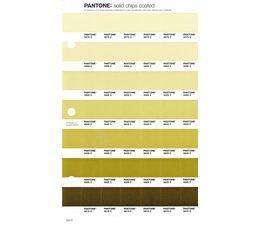 Pantone PMS Solid Chips vervangingspagina op coated papier 203C, kleurnummers 5875C - 5865C - 5855C - 5845C - 5835C - 5825C - 5815C