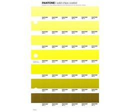 Pantone PMS Solid Chips vervangingspagina op coated papier 210C, kleurnummers 587C - 586C - 585C - 584C - 583C - 582C - 581C