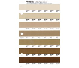 Pantone PMS Solid Chips vervangingspagina op coated papier 221C, kleurnummers 2323C - 2324C - 2325C - 2326C - 2327C - 2328C - 2329C