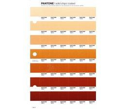 Pantone PMS Solid Chips vervangingspagina op coated papier 226C, kleurnummers 719C - 720C - 721C - 722C - 723C - 724C - 725C