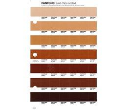 Pantone PMS Solid Chips vervangingspagina op coated papier 229C, kleurnummers 2316C - 2317C - 2318C - 2319C - 2320C - 2321C - 2322C
