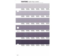 Pantone PMS Solid Chips vervangingspagina op coated papier 248C, kleurnummers Cool Gray 6C - Cool Gray 7C - Cool Gray 8C - Cool Gray 9C - Cool Gray 10C - Cool Gray 11C