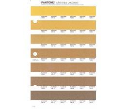 Pantone PMS Solid Chips vervangingspagina op uncoated papier 11U, kleurnummers 7555U - 7556U - 7557U - 7558U - 7559U - 7560U - 7561U