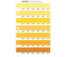 Pantone PMS Solid Chips vervangingspagina op uncoated papier 13U, kleurnummers 2008U - 2009U - 2010U - 2011U - 2012U - 2013U - 2014U