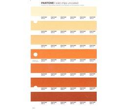 Pantone PMS Solid Chips vervangingspagina op uncoated papier 20U, kleurnummers 2015U - 2016U - 2017U - 2018U - 2019U - 2020U - 2021U
