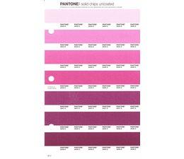 Pantone PMS Solid Chips vervangingspagina op uncoated papier 62U, kleurnummers 2043U - 2044U - 2045U - 2046U - 2047U - 2048U - 2049U