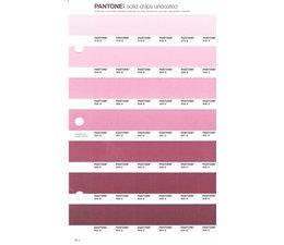 Pantone PMS Solid Chips vervangingspagina op uncoated papier 66U, kleurnummers 510U - 509U - 508U - 507U - 506U - 505U - 504U