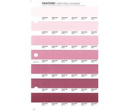 Pantone PMS Solid Chips vervangingspagina op uncoated papier 68U, kleurnummers 691U - 692U - 693U - 694U - 695U - 696U - 697U
