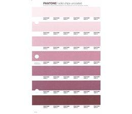 Pantone PMS Solid Chips vervangingspagina op uncoated papier 71U, kleurnummers 5035U - 5025U - 5015U - 5005U - 4995U - 4985U - 4975U
