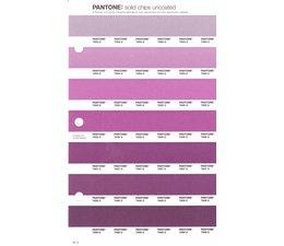 Pantone PMS Solid Chips vervangingspagina op uncoated papier 81U, kleurnummers 7653U - 7654U - 7655U - 7656U - 7657U - 7658U - 7659U