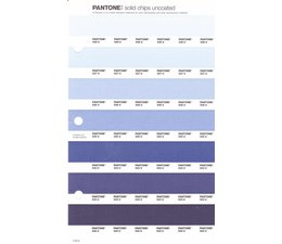 Pantone PMS Solid Chips vervangingspagina op uncoated papier 110U, kleurnummers 538U - 537U - 536U - 535U - 534U - 533U - 532U