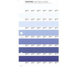 Pantone PMS Solid Chips vervangingspagina op uncoated papier 119U, kleurnummers 649U - 650U - 651U - 652U - 653U - 654U - 655U