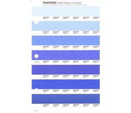 Pantone PMS Solid Chips vervangingspagina op uncoated papier 121U, kleurnummers 2127U - 2128U - 2129U - 2130U - 2131U - 2132U - 2133U