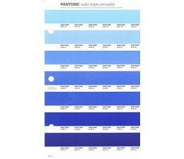Pantone PMS Solid Chips vervangingspagina op uncoated papier 130U, kleurnummers 2141U - 2142U - 2143U - 2144U - 2145U - 2146U - 2147U