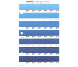 Pantone PMS Solid Chips vervangingspagina op uncoated papier 137U, kleurnummers 7688U - 7689U - 7690U - 7691U - 7692U - 7693U - 7694U