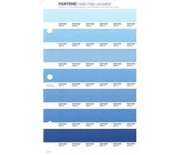 Pantone PMS Solid Chips vervangingspagina op uncoated papier 144U, kleurnummers 2204U - 2205U - 2206U - 2207U - 2208U - 2209U - 2210U