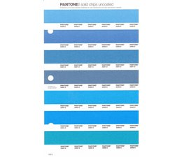 Pantone PMS Solid Chips vervangingspagina op uncoated papier 148U, kleurnummers 2389U - 2390U - 2391U - 2392U - 2393U - 2394U - 2396U